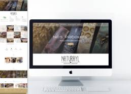 site internet Naturayl by Bedesigned